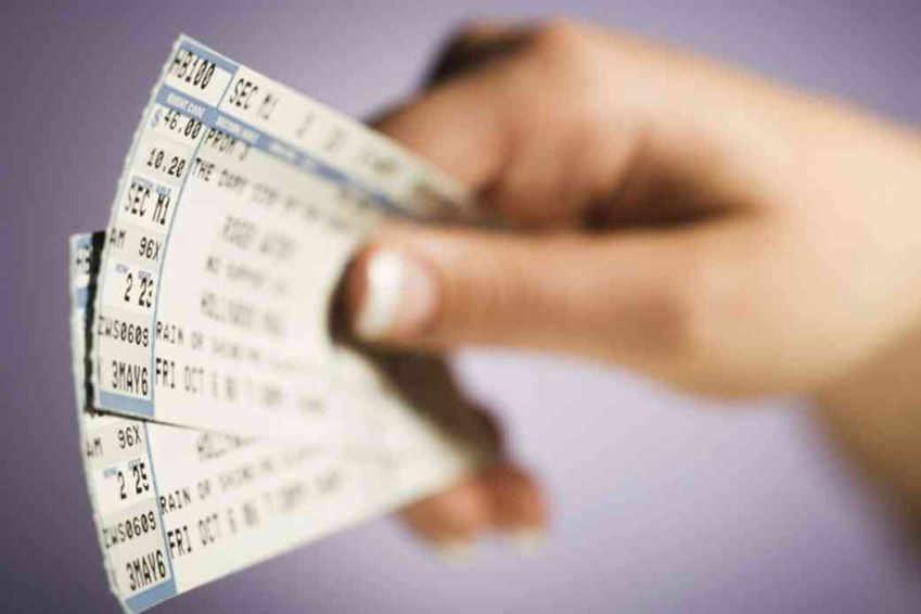 falsificación de entradas